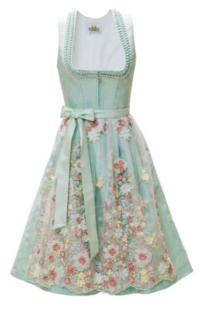 Wenger Dirndl Flower Power - Minze